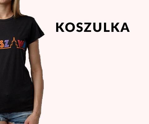 Koszulki upominki warszawskie