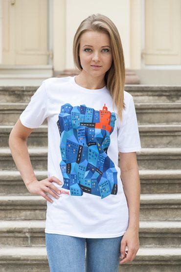 dziwny1 370x555 - Koszulka