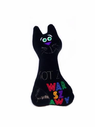 "czarna maskotka e1549112079116 370x493 - Maskotka ""Kot z Warszawy"""