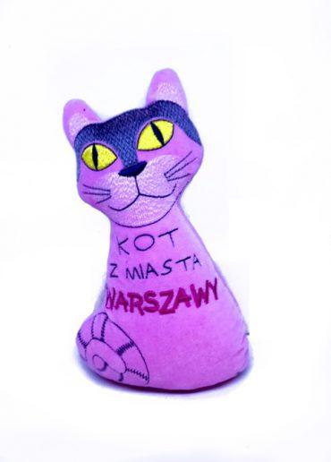 kot różowy 370x516 - Pluszak - KOT Warszawski