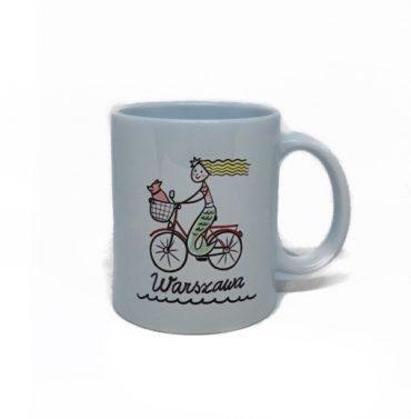 kubek syrenka na rowerze 370x377 - Kubek