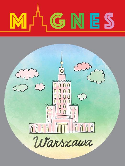 pk piękny - Magnes