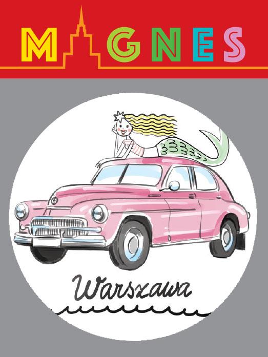 syrenka warszawa - Magnes