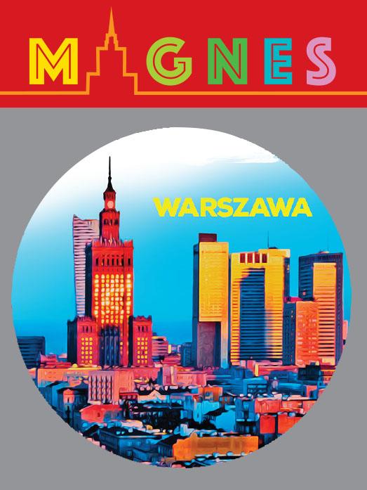 wawa miasto piękny - Magnes