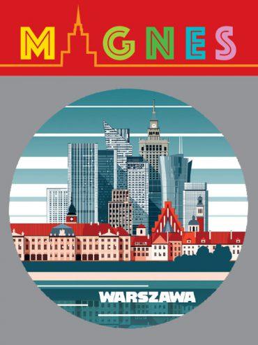 wieżowce piękny 370x493 - Magnes
