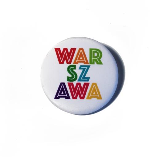 warszawa - Przypinka