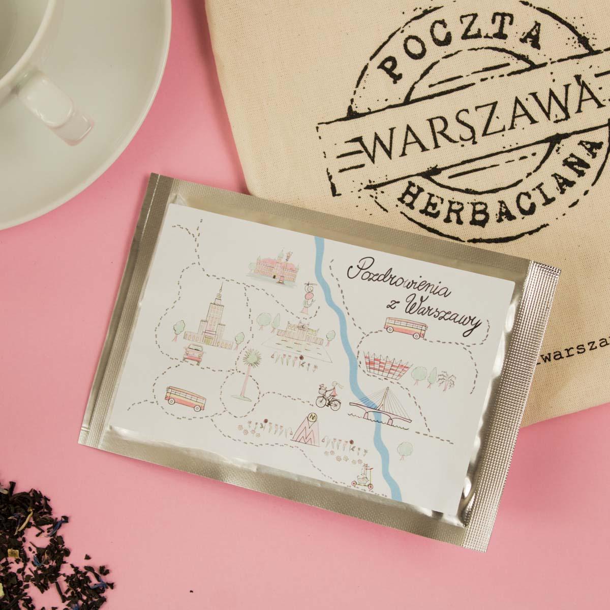Pozdrowienia z Warszawy