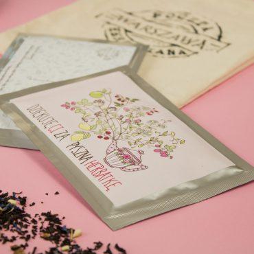 Pocztówka herbaciana - Dziękuję Ci
