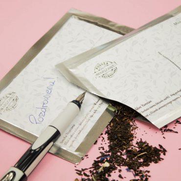 Pocztówka herbaciana
