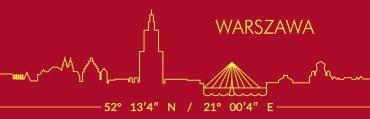 Warszawa czerwona 10 370x119 - Magnes