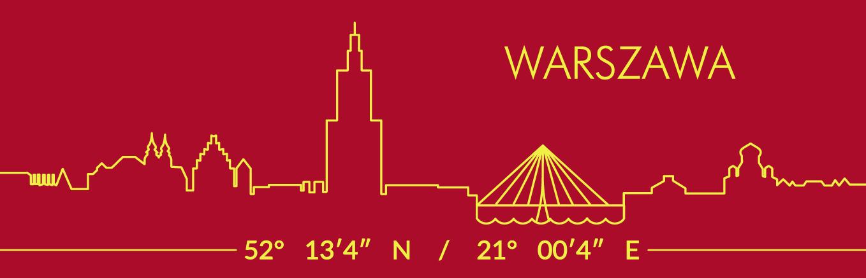 Warszawa czerwona 10 - Magnes
