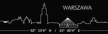 Warszawa czerwona 8 370x119 - Magnes