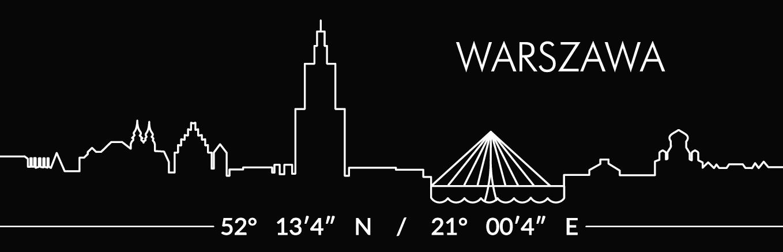 Warszawa czerwona 8 - Magnes